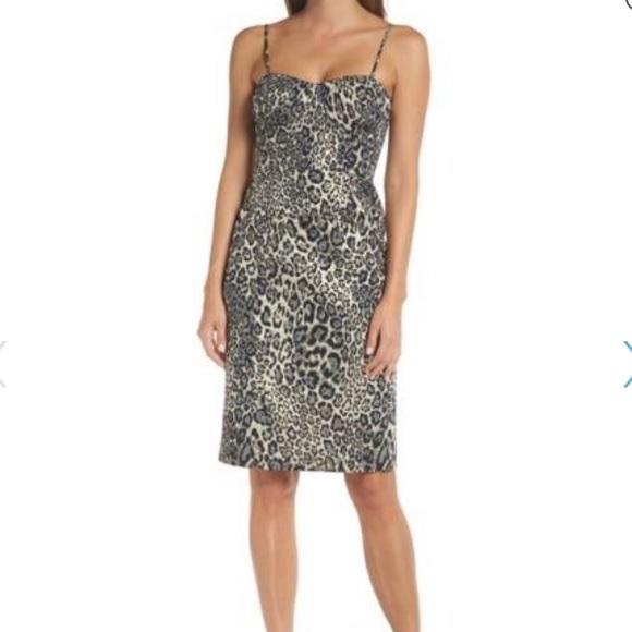 J.Crew Collection Metallic Leopard dress (…